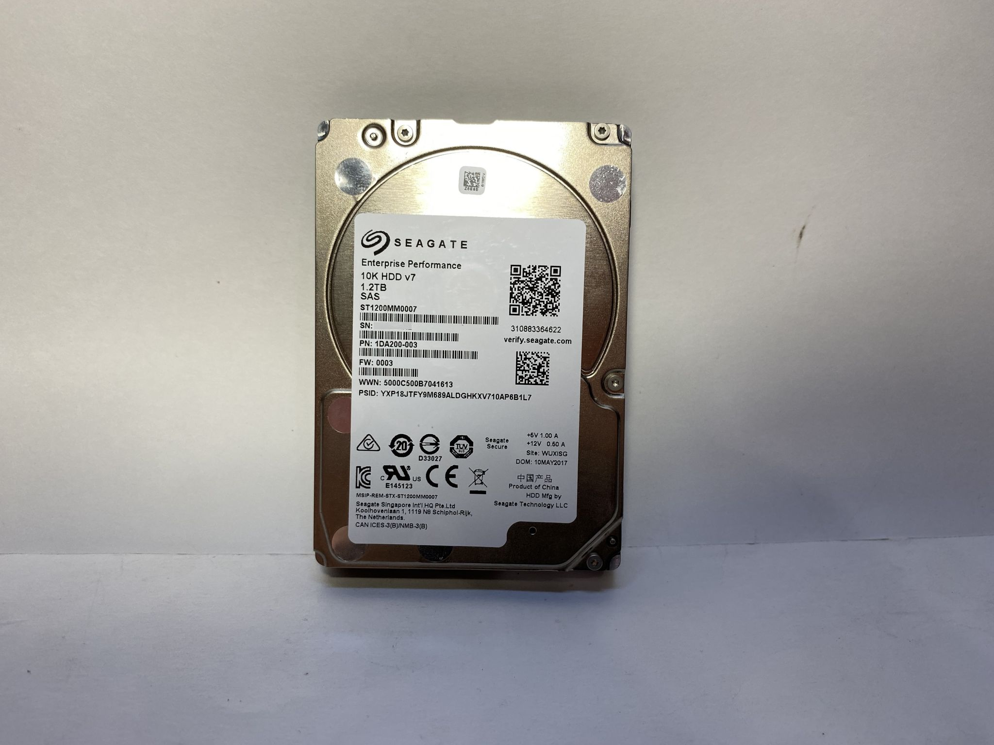 Жесткий диск Seagate Enterprise Performance 10K 512n 1.2TB, SAS 6Gb/s