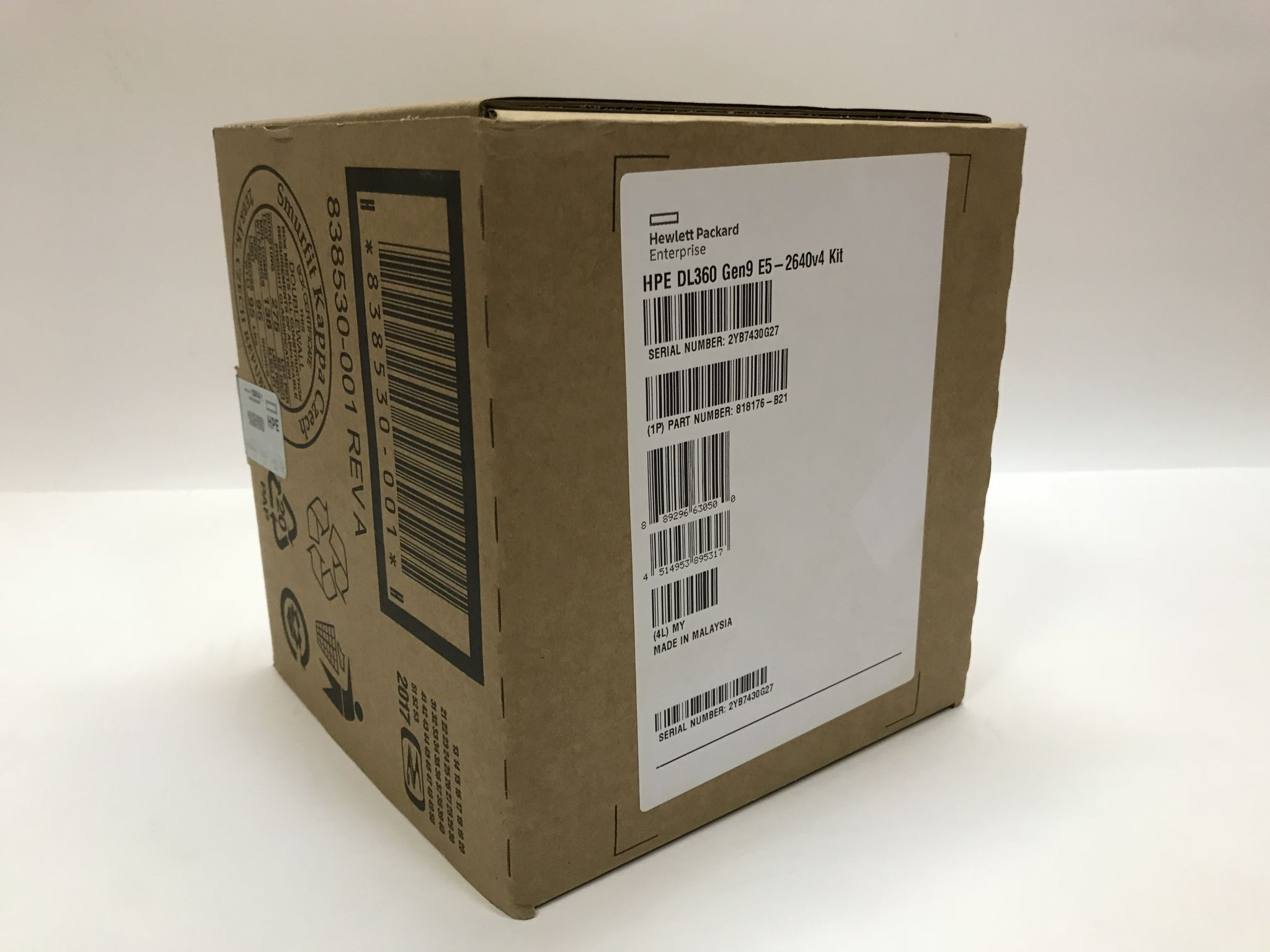 Процессор HP DL360 Gen9 Intel Xeon E5-2640v4